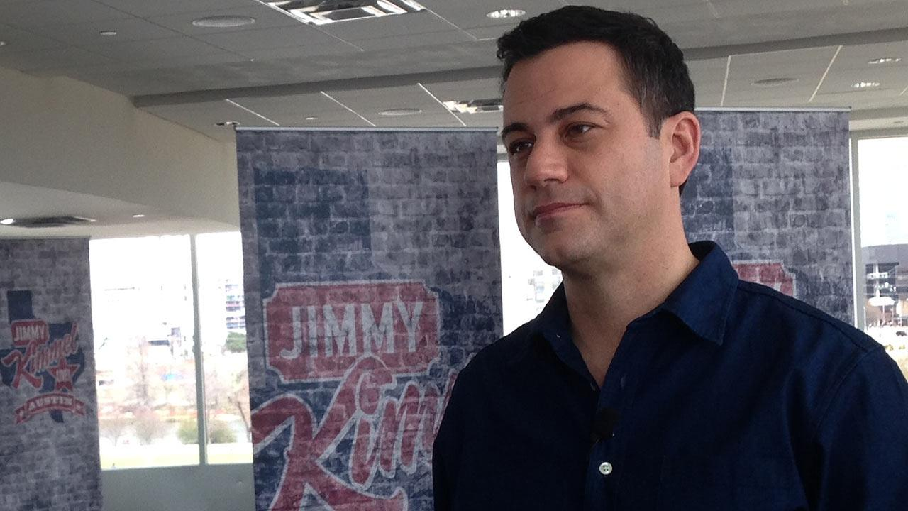 Jimmy Kimmel at South by Southwest Festival in Austin