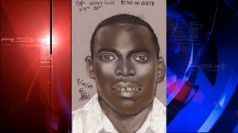 Sex assault suspect sketch