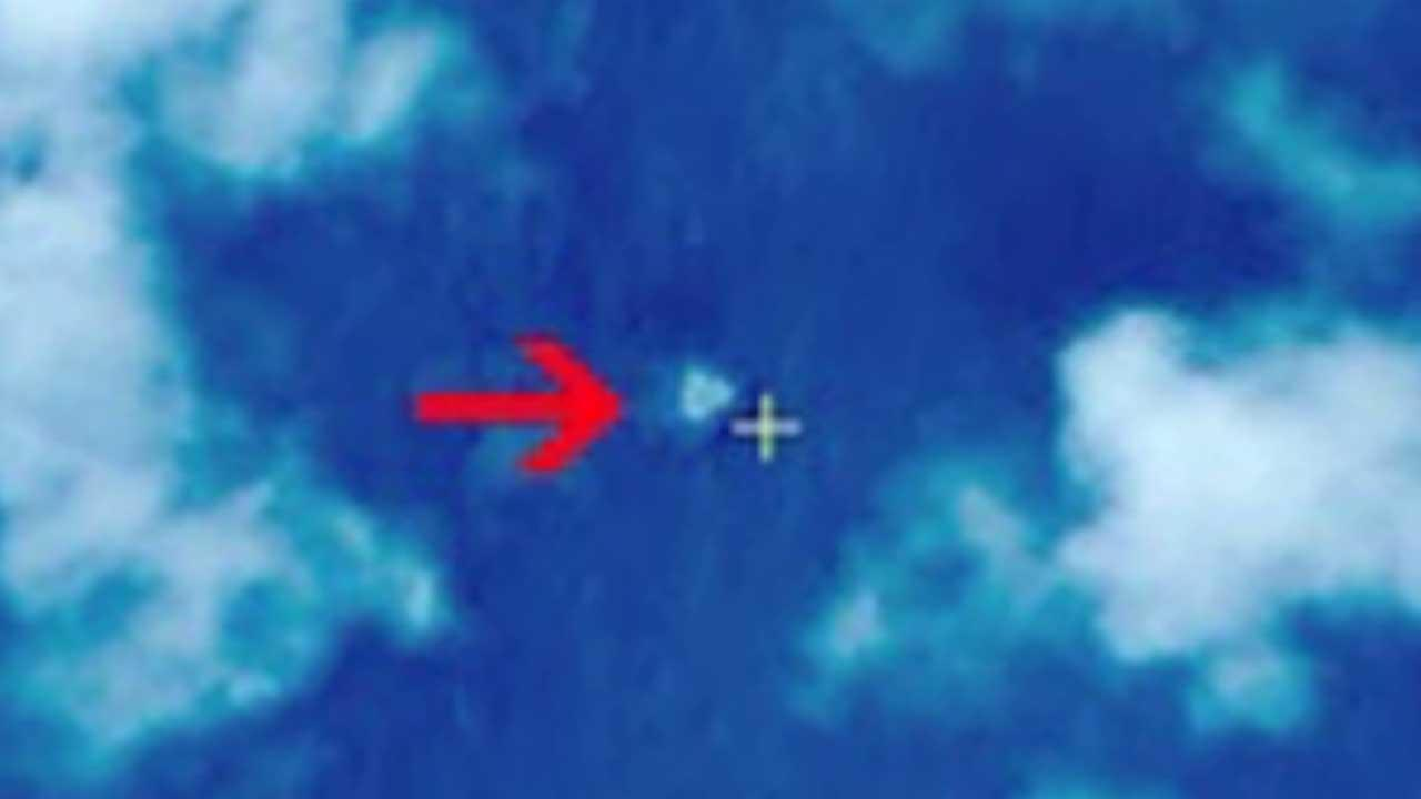 Malaysia: No debris at spot shown on China images