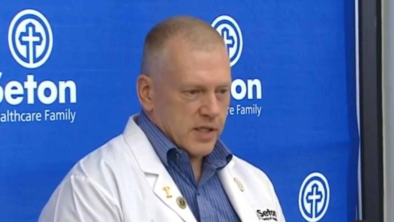 Doctors held a news conference to give an update on patients taken to University Medical Center Brackenridge following Thursday mornings fatal car crash at the SXSW Music Festival.