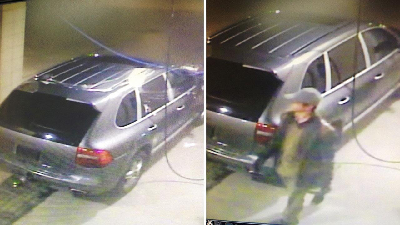 Car wash burglary