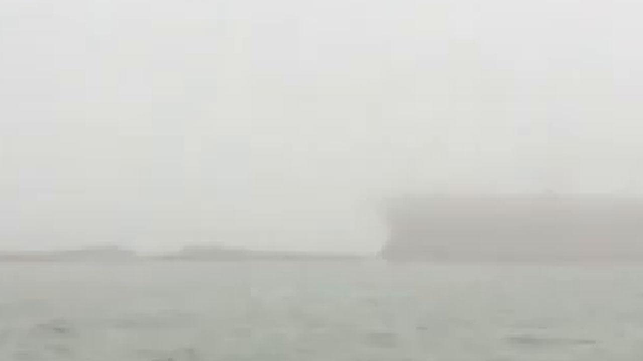 Barge collision Texas city