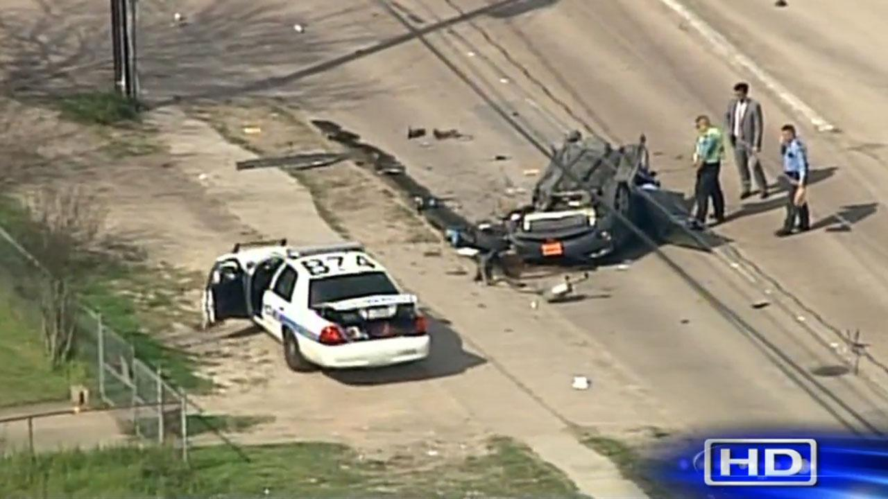 South side Houston wreck