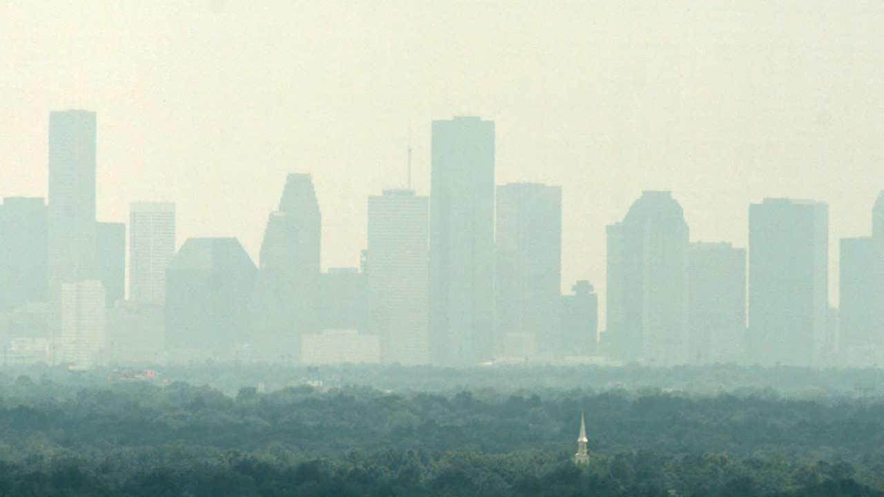 Houston air pollution