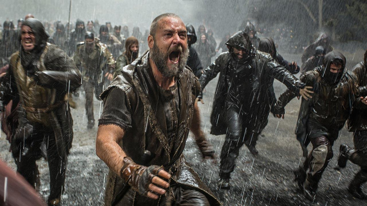 This image released by Paramount Pictures shows Russell Crowe in a scene from Noah.