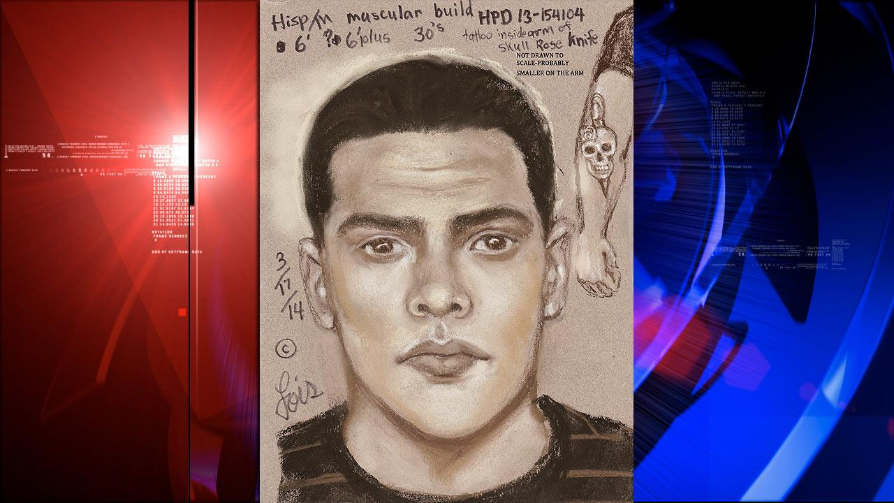 Attempted abduction suspect sketch