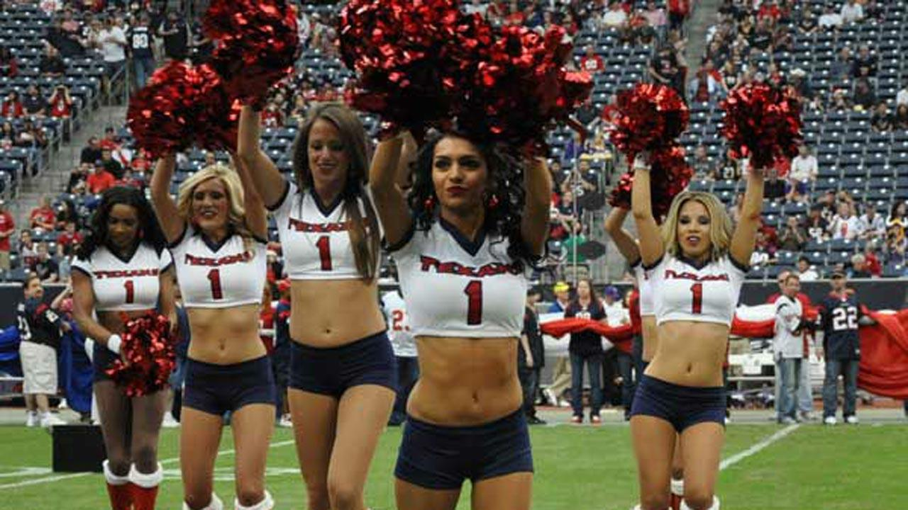 Texans cheerleader tryouts