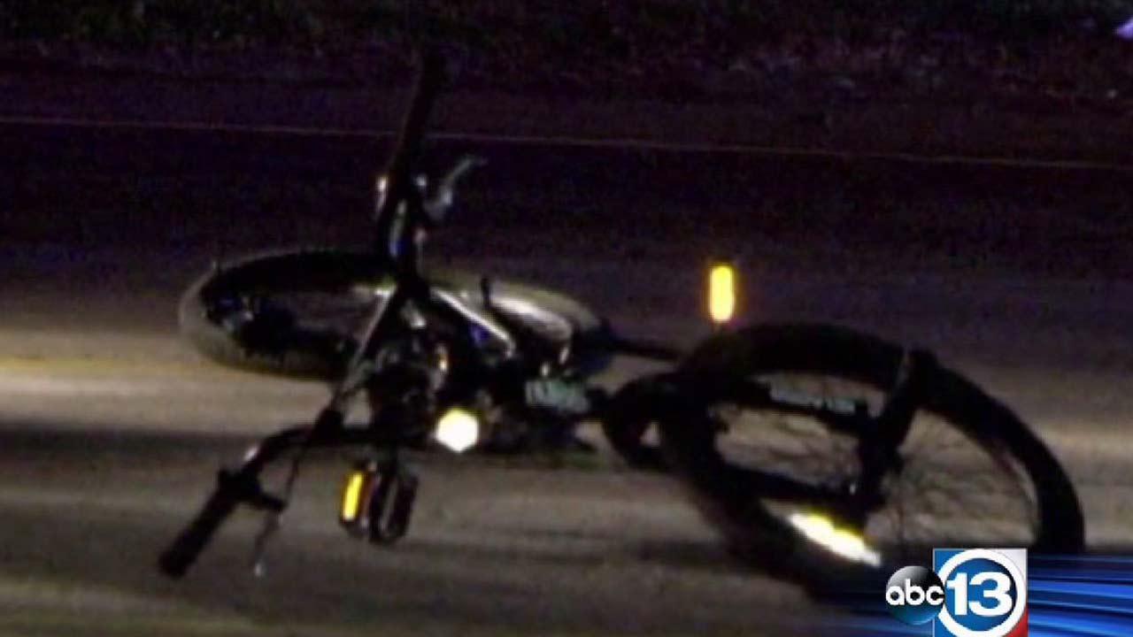 Bicyclist killed