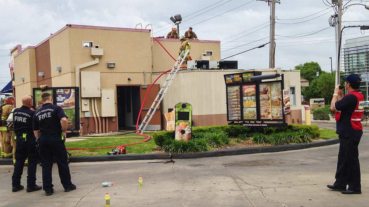 Burger King fire