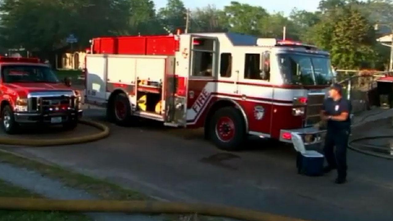 Northeast Houston fire
