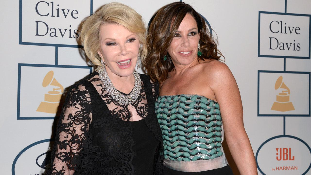 Joan Rivers, left, and Melissa Rivers