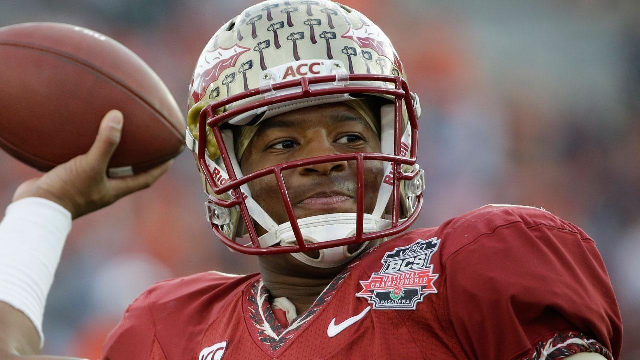 Jameis Winston is accused of stealing crab legs (AP)