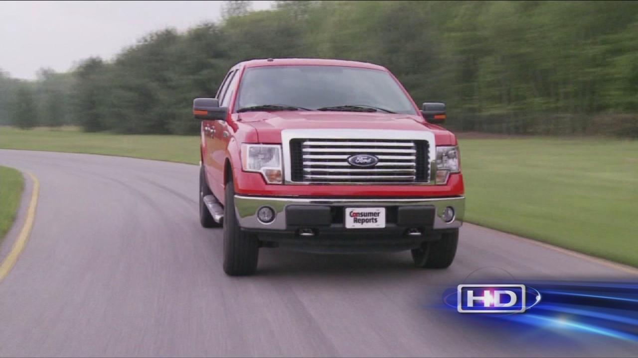 Consumer Reports puts trucks to the test