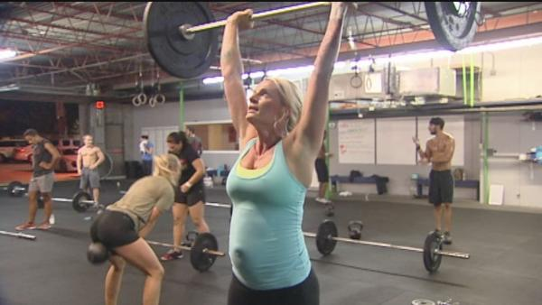 Crossfit gaining popularity among pregnant women