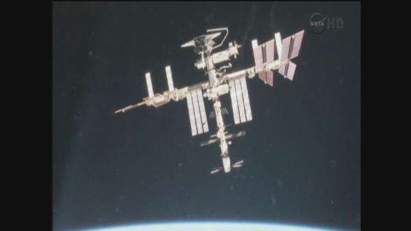 Cooling pump on space station shuts down