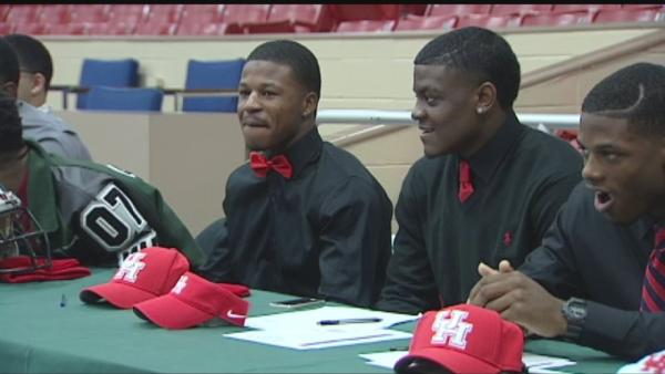 Big day for high school athletes across Houston