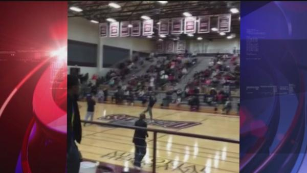 Manvel middle schooler makes amazing shot