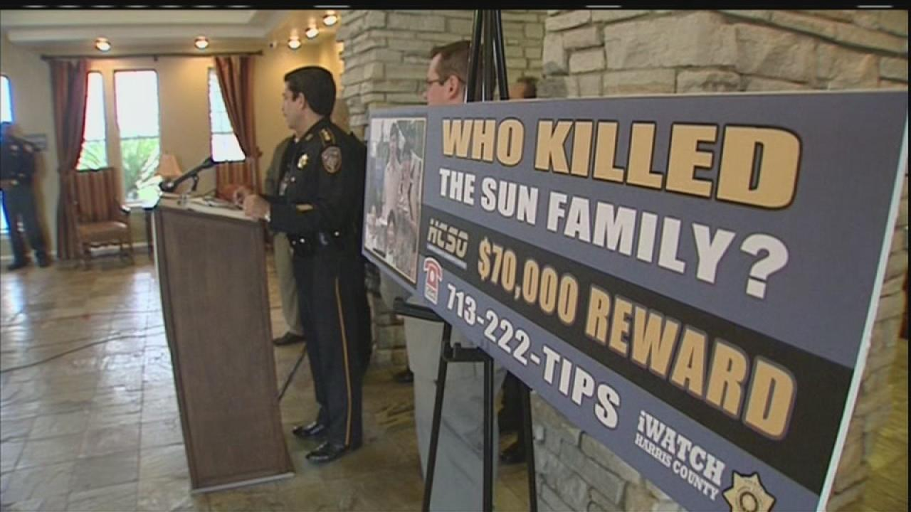 Increased reward offered in family murders