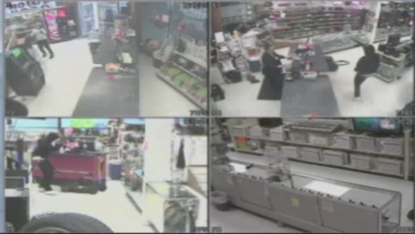 Surveillance released of pawn shop robbery