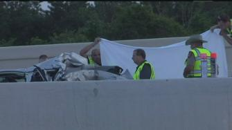 Child dies in multi-vehicle wreck on 290