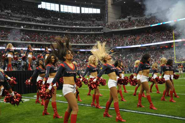 Reliant Stadium was rocking for the AFC Wild Card playoff game between the Texans and the Bengals on Saturday, January 5, 2013. <span class=meta>(KTRK Photo)</span>