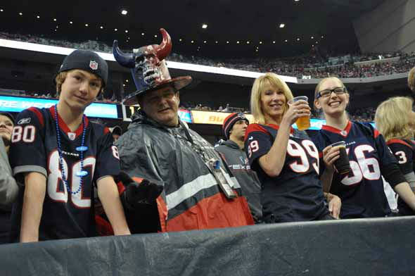 "<div class=""meta ""><span class=""caption-text "">Reliant Stadium was rocking for the AFC Wild Card playoff game between the Texans and the Bengals on Saturday, January 5, 2013. (KTRK Photo)</span></div>"