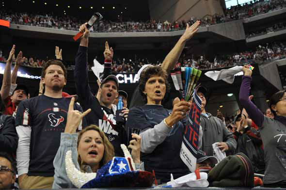 "<div class=""meta image-caption""><div class=""origin-logo origin-image ""><span></span></div><span class=""caption-text"">Reliant Stadium was rocking for the AFC Wild Card playoff game between the Texans and the Bengals on Saturday, January 5, 2013. (KTRK Photo)</span></div>"