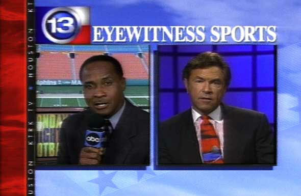 "<div class=""meta image-caption""><div class=""origin-logo origin-image ""><span></span></div><span class=""caption-text"">Images of ABC13 Eyewitness Sports Director Bob Allen over nearly 40 years of covering Houston sports. (KTRK Photo)</span></div>"