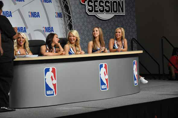 Images of the fans, players and festivities at the NBA All-Star Game Jam Session at the George R. Brown Convention Center. <span class=meta>(KTRK Photo)</span>