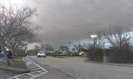 "<div class=""meta ""><span class=""caption-text "">Images of the severe weather around the Houston area on Monday, February 18, 2013. You can email your photos/videos to news@abc13.com.  (iWitness reports)</span></div>"