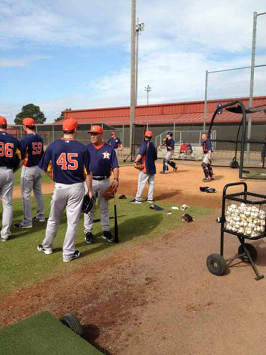 Great to be in Florida with the Astros!  <span class=meta>(KTRK Photo&#47;Greg Bailey)</span>