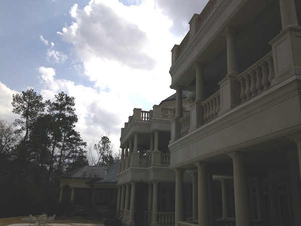 Back of house showing three balconies <span class=meta>(KTRK Photo)</span>