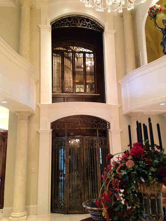 Bird Cage elevator - one of three elevators in home <span class=meta>(KTRK Photo)</span>