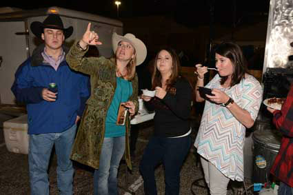 "<div class=""meta ""><span class=""caption-text "">The World's Championship Bar-B-Que Contest is three days of cooking, competition, eating and dancing to kick off the Houston Livestock Show and Rodeo. (John Mizwa/KTRKJohn Mizwa/KTRK)</span></div>"