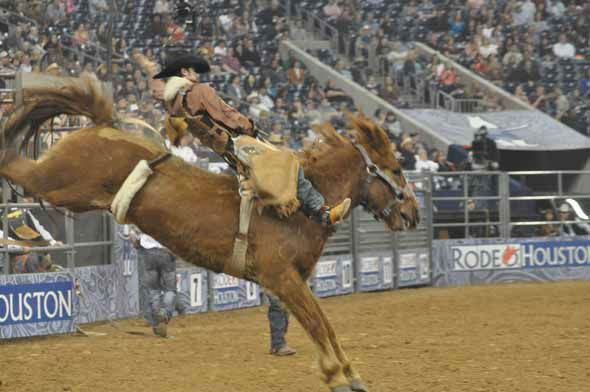 Image of the opening night events of RodeoHouston 2013 at Reliant Stadium. <span class=meta>(KTRK Photo)</span>