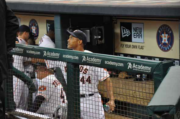The Astros celebrated an historic night on March 31, 2013 with their inaugural American League game on Opening Night at Minute Maid Park. <span class=meta>(KTRK Photo)</span>