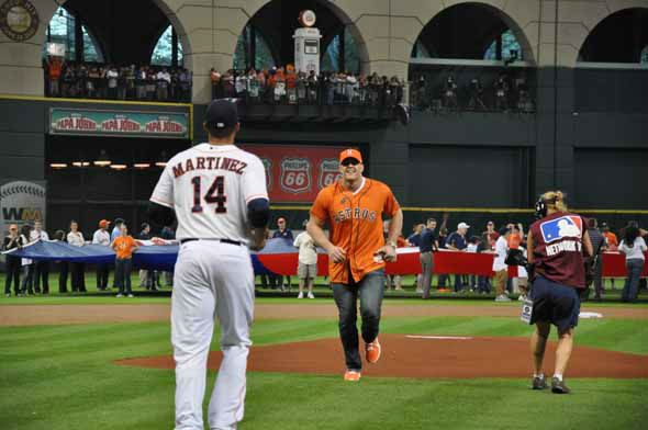 "<div class=""meta ""><span class=""caption-text "">The Astros celebrated an historic night on March 31, 2013 with their inaugural American League game on Opening Night at Minute Maid Park. (KTRK Photo)</span></div>"