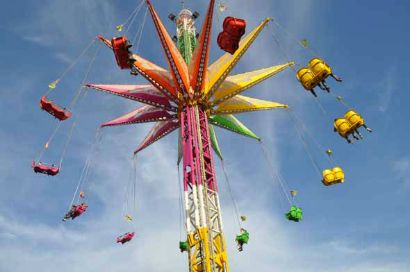 Images of the carnival at the 2013 Houston Rodeo.  <span class=meta>(KTRK Photo)</span>