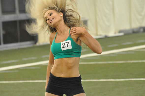 "<div class=""meta image-caption""><div class=""origin-logo origin-image ""><span></span></div><span class=""caption-text"">The 51 Houston Texans Cheerleader finalists practiced their moves Monday night inside the bubble at Reliant.  (KTRK Photo)</span></div>"