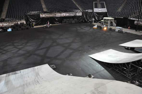 The Nuclear Cowboyz, a high-octane freestyle motocross touring production, hits Reliant Stadium this weekend.  <span class=meta>(Photo&#47;ABC13)</span>