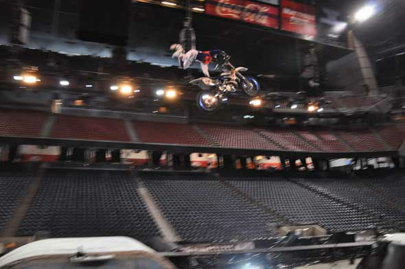 "<div class=""meta ""><span class=""caption-text "">The Nuclear Cowboyz, a high-octane freestyle motocross touring production, hits Reliant Stadium this weekend.  (Photo/ABC13)</span></div>"