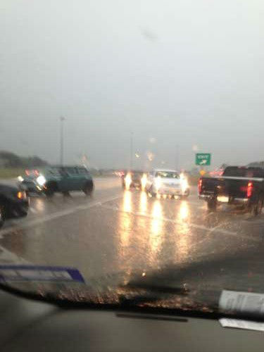 These are images our viewers sent in to us through iWitness reports of storms that moved through on Saturday, April 27, 2013.  If you have photos or video of the storms or aftermath, email them to us at news@abc13.com <span class=meta>(Photo&#47;iWitness reports)</span>