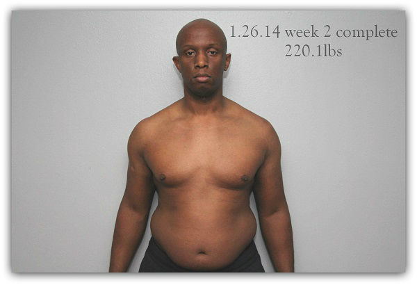 "<div class=""meta ""><span class=""caption-text "">He looked in the mirror at 237 lbs. and wanted his 175 lb. body back. On Jan. 1 he changed his diet and incorporated very simple exercises to do just that. (KTRK Photo)</span></div>"