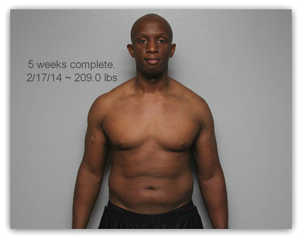 He looked in the mirror at 237 lbs. and wanted his 175 lb. body back. On Jan. 1 he changed his diet and incorporated very simple exercises to do just that. <span class=meta>(KTRK Photo)</span>