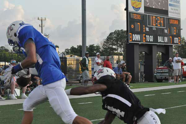 The 2012 Bayou Bowl featured the top High School All-Star football players from Texas and Louisiana lining up against each other Saturday at Stallworth Stadium in Baytown, TX. <span class=meta>(KTRK Photo)</span>