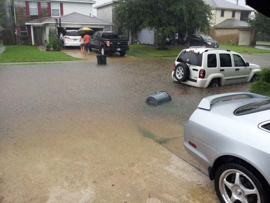 These are just some of the photos sent in by you of the flooding in southeast Texas. We&#39;ve got all of them at http:&#47;&#47;iwitness.abc13.com. And if you have photos or videos, send them to us at news@abc13.com &#40;Photo&#47;iWitness Reports&#41;  <span class=meta>(Photo&#47;iWitness)</span>