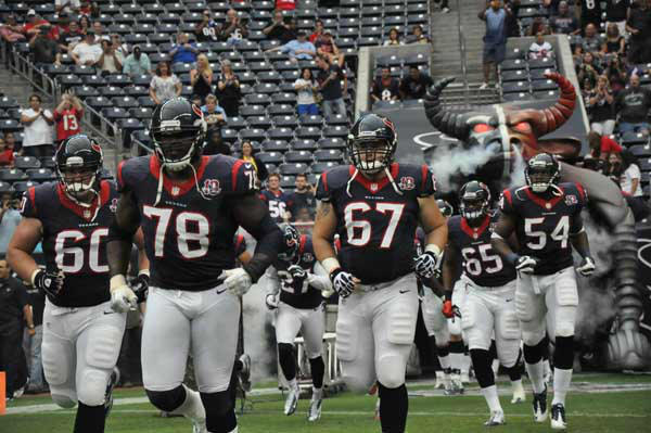 "<div class=""meta ""><span class=""caption-text "">Images from the Texans final preseason game of the 2012 season vs. the Vikings Thursday night at Reliant Stadium. (KTRK Photo)</span></div>"