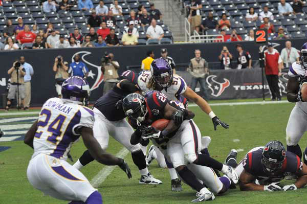 Images from the Texans final preseason game of the 2012 season vs. the Vikings Thursday night at Reliant Stadium. <span class=meta>(KTRK Photo)</span>