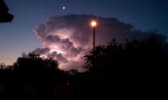 Viewers sent in these weather pics through our iWitness reports. You can submit your photos&#47;videos by emailing news@abc13.com or uploading them here: http:&#47;&#47;iwitness.abc13.com <span class=meta>(KTRK Photo)</span>