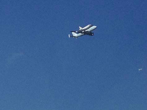 Shuttle Endeavour arrived in Houston Wednesday and these are some of the photos you've been snapping and sending to us.  See more here.  If you have photos or videos, email them to us at news@abc13.com.
